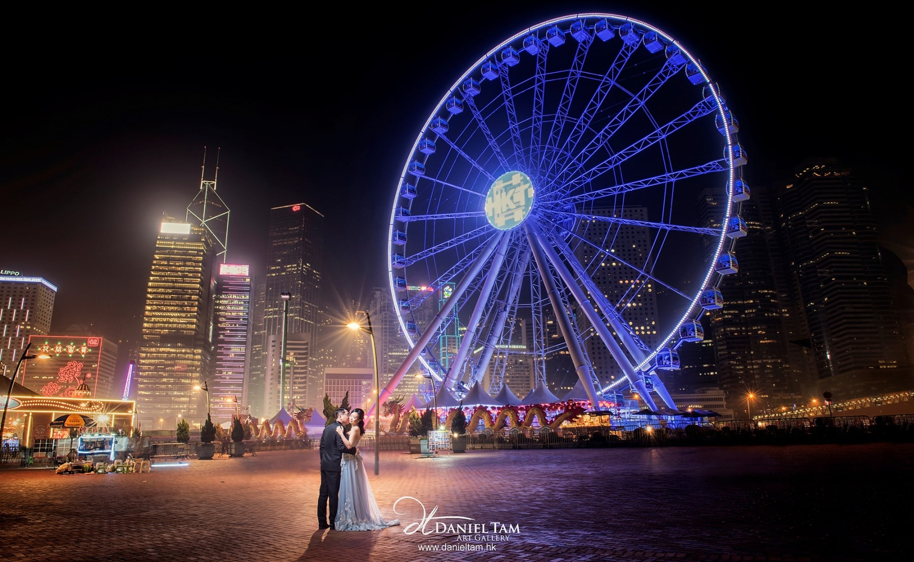 Hong Kong Observation Wheel Prewedding