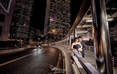 Hong Kong Night Scene Prewedding