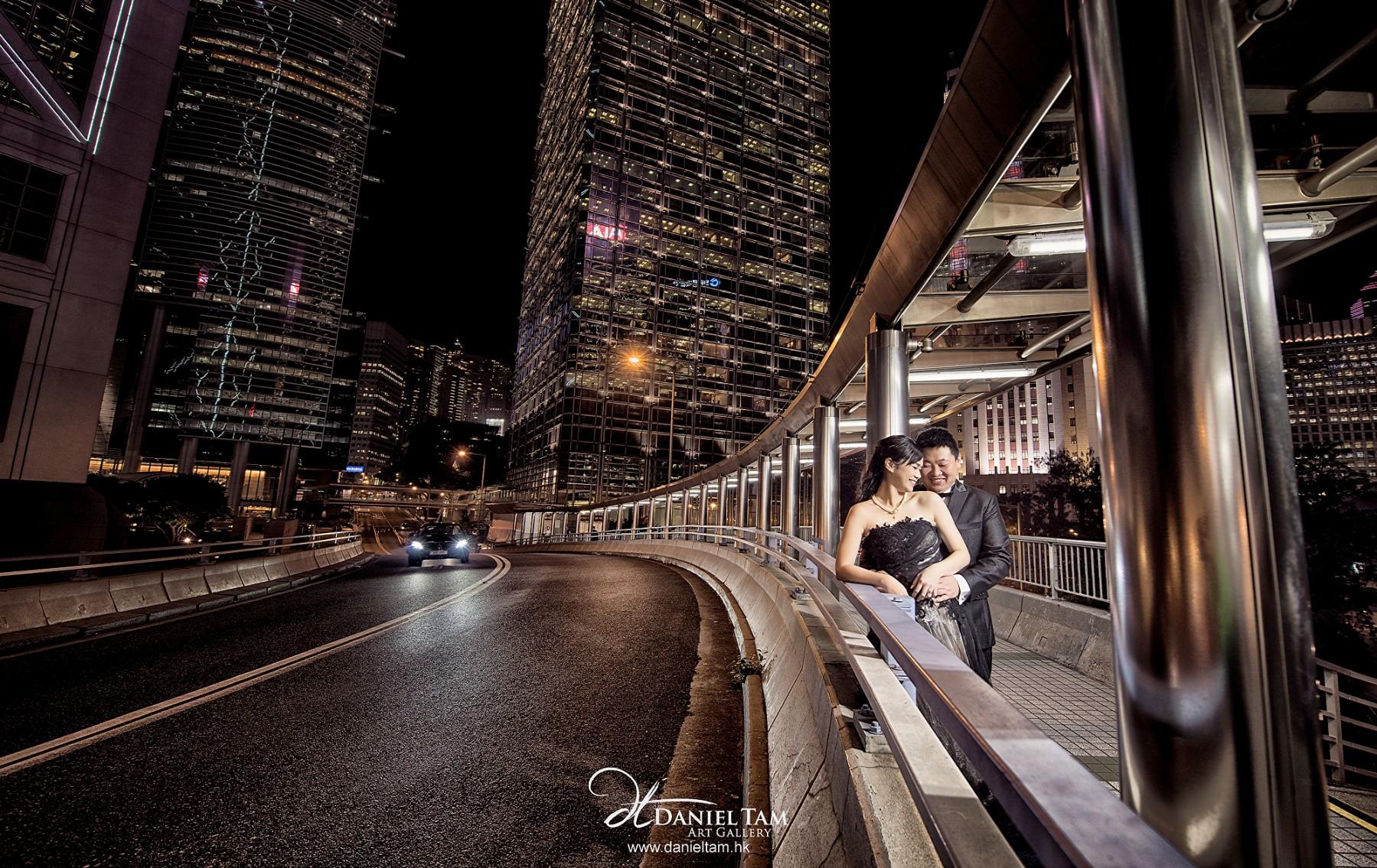 Hong Kong Night Scene Prewedding
