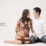 Anri and Dai pregnancy photo 02
