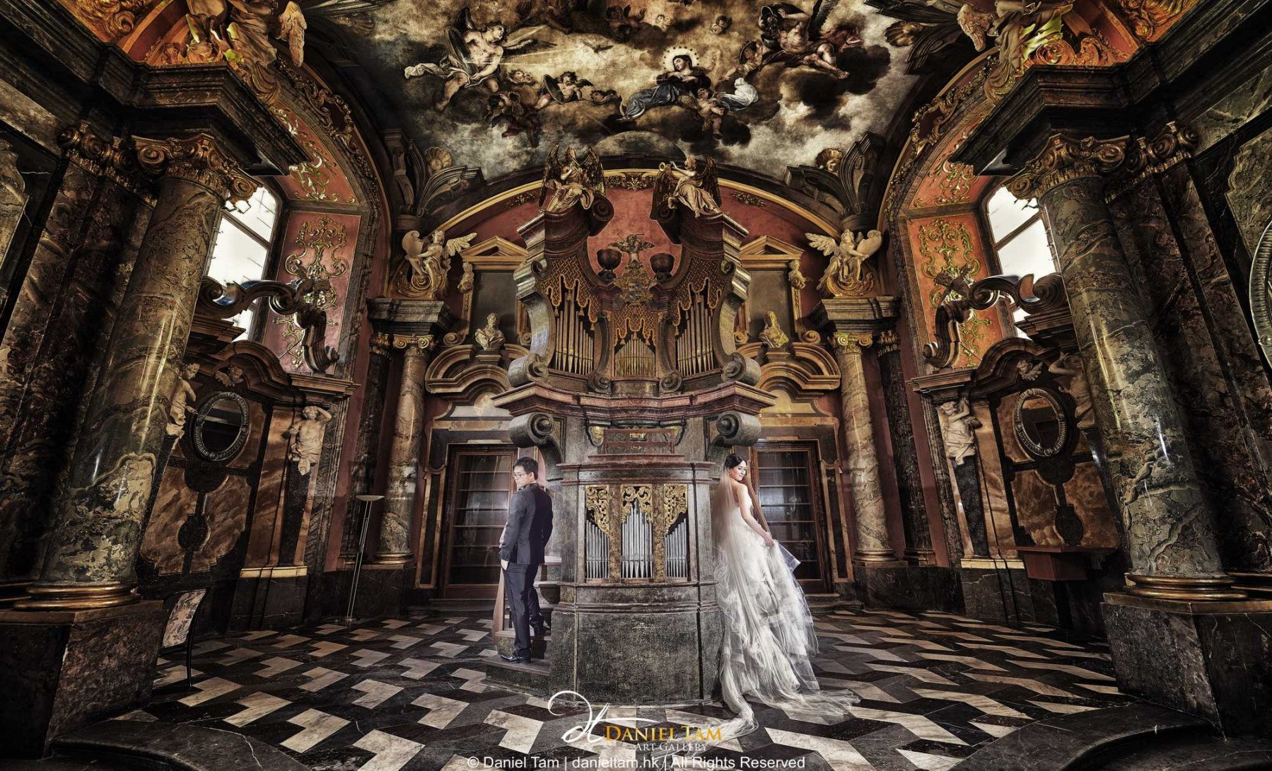 prague prewedding chapel