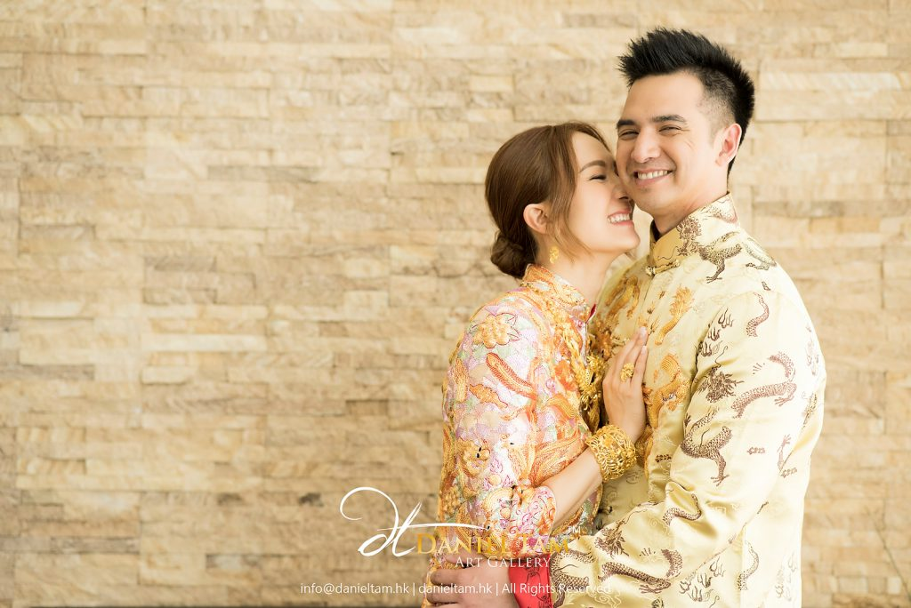 王君馨 grace and daniel wedding day photo 1