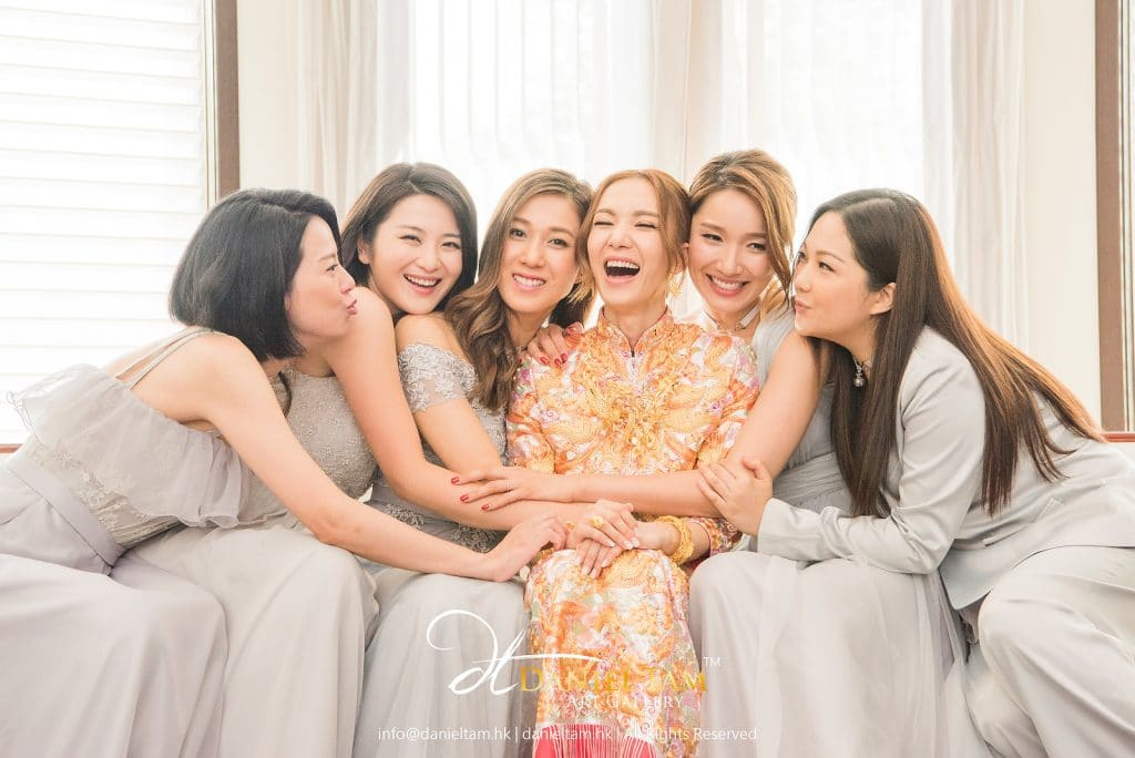 王君馨 grace and daniel wedding day photo 5