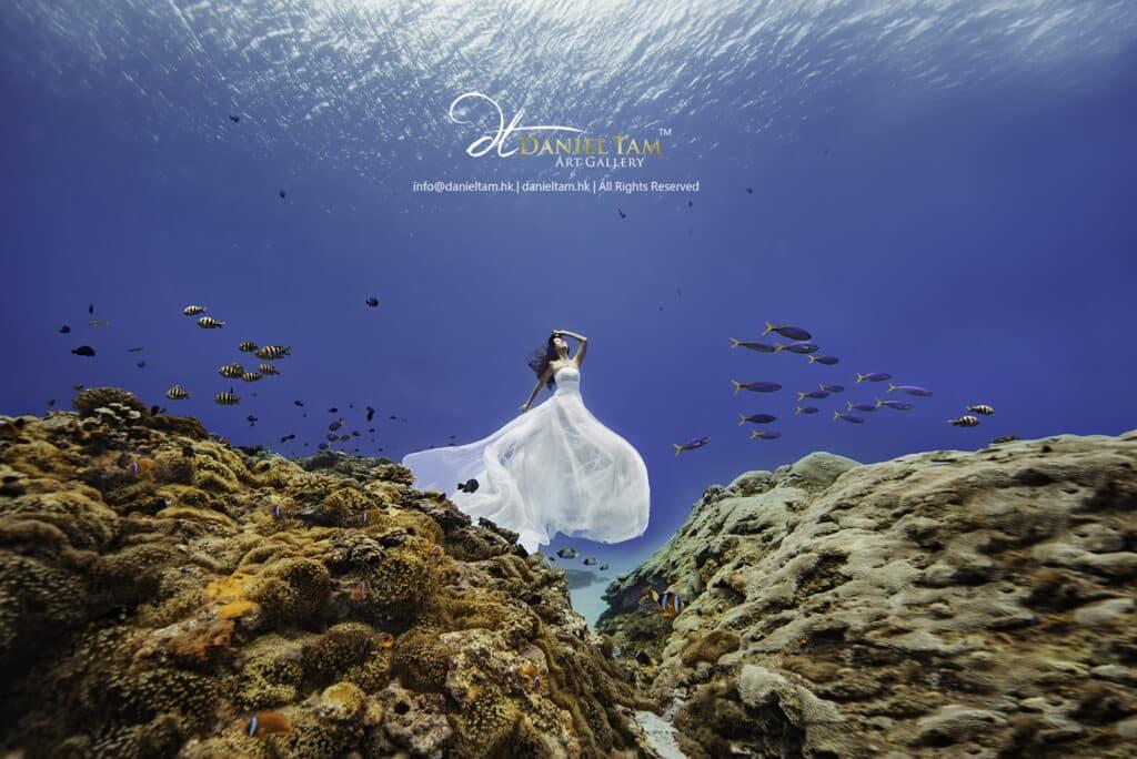 underwater pre wedding by daniel tam 2