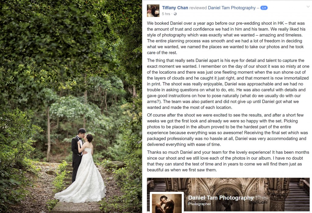 tiffany and kenneth review daniel tam photography