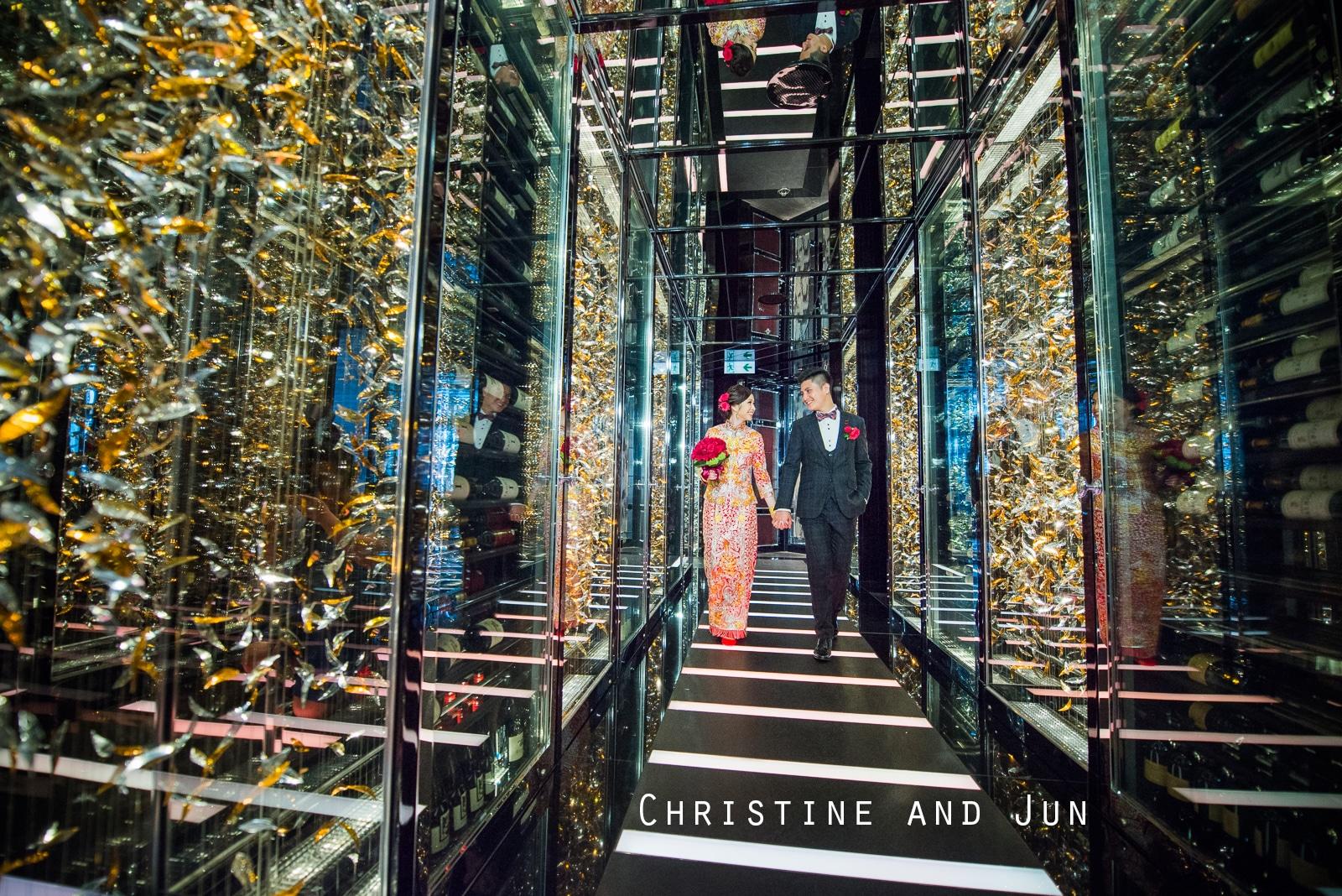 Christine and Jun wedding day