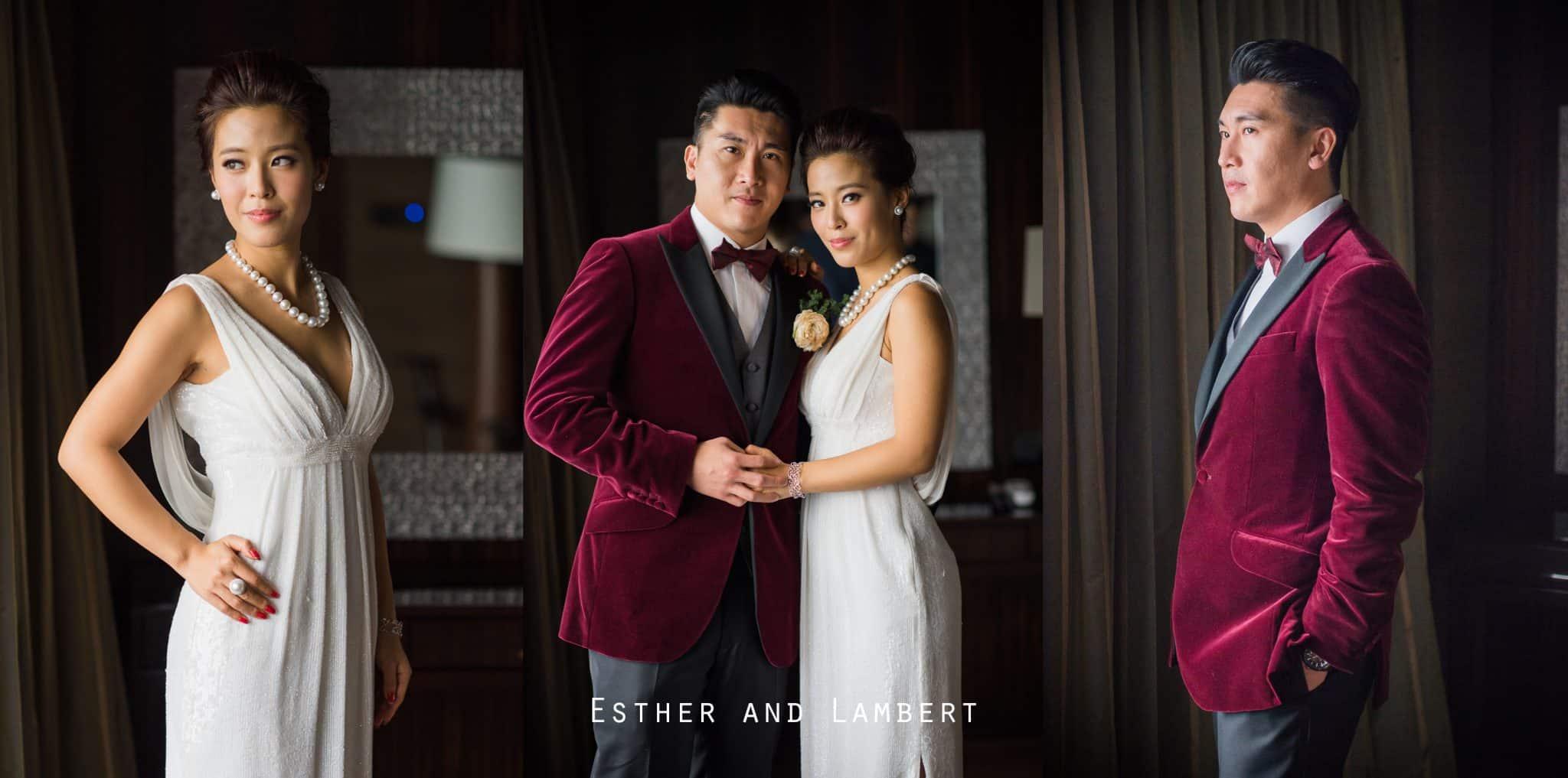 Esther and Lambert wedding day