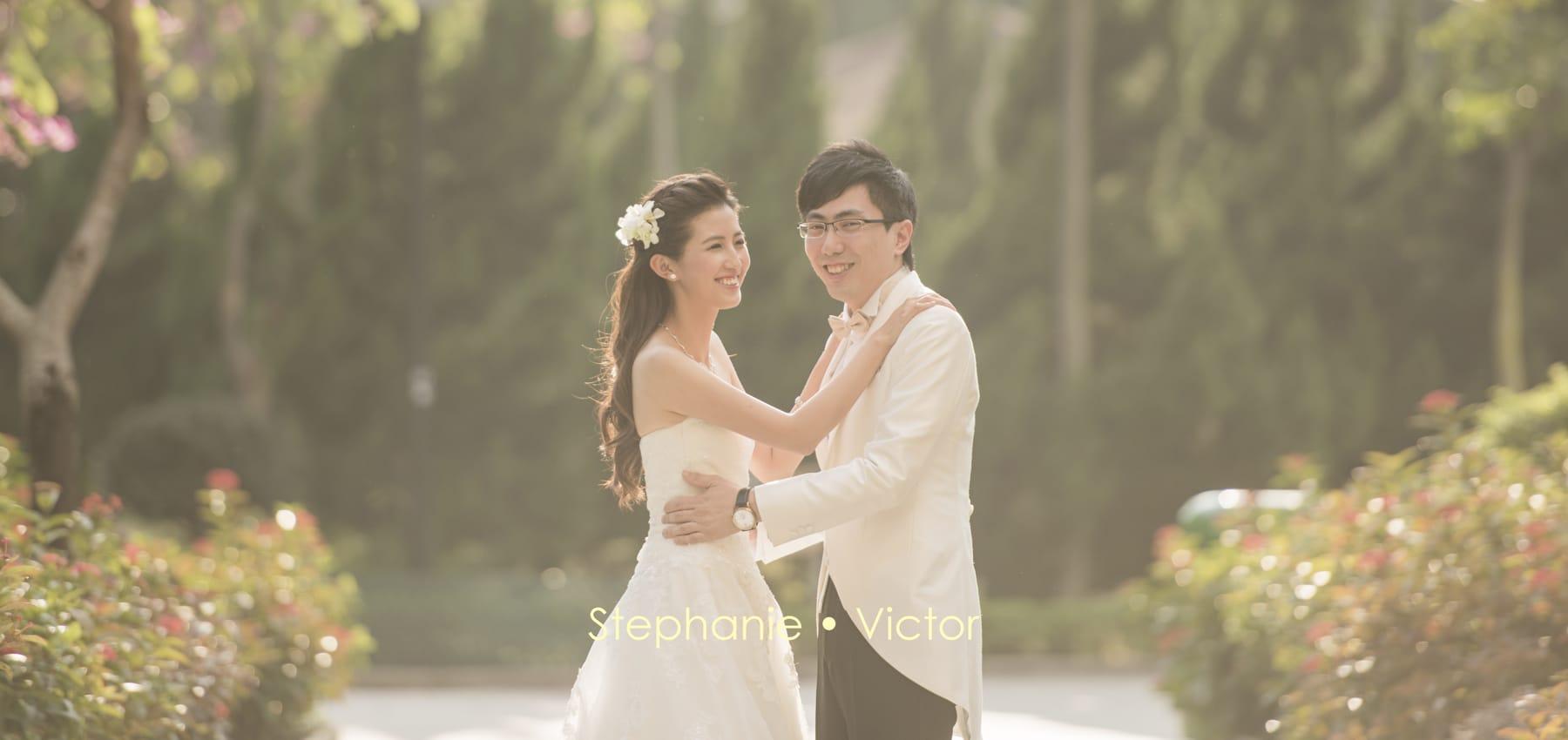 Stephanie and Victor wedding day same day edit