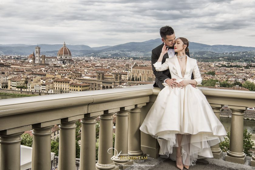 Grace and Daniel overseas pre wedding (Florence + Budapest)