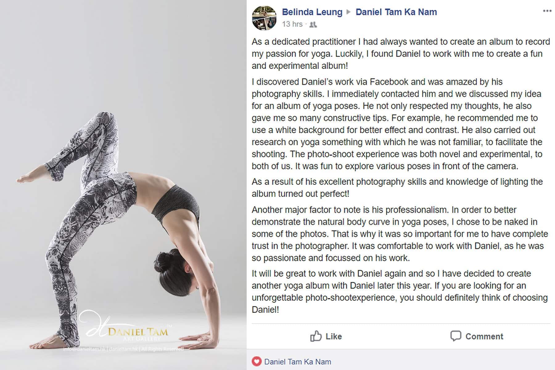 Belinda Yoga Shoot