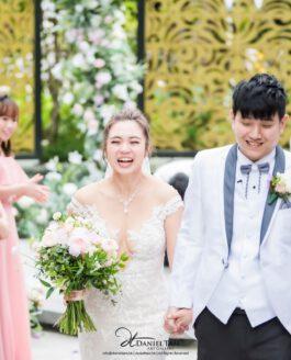 Beth and Wayne Wedding Day Photography – Hong Kong Ocean Park Marriott Hotel